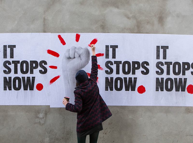 National Womens Council of Ireland It Stops Now Campaign