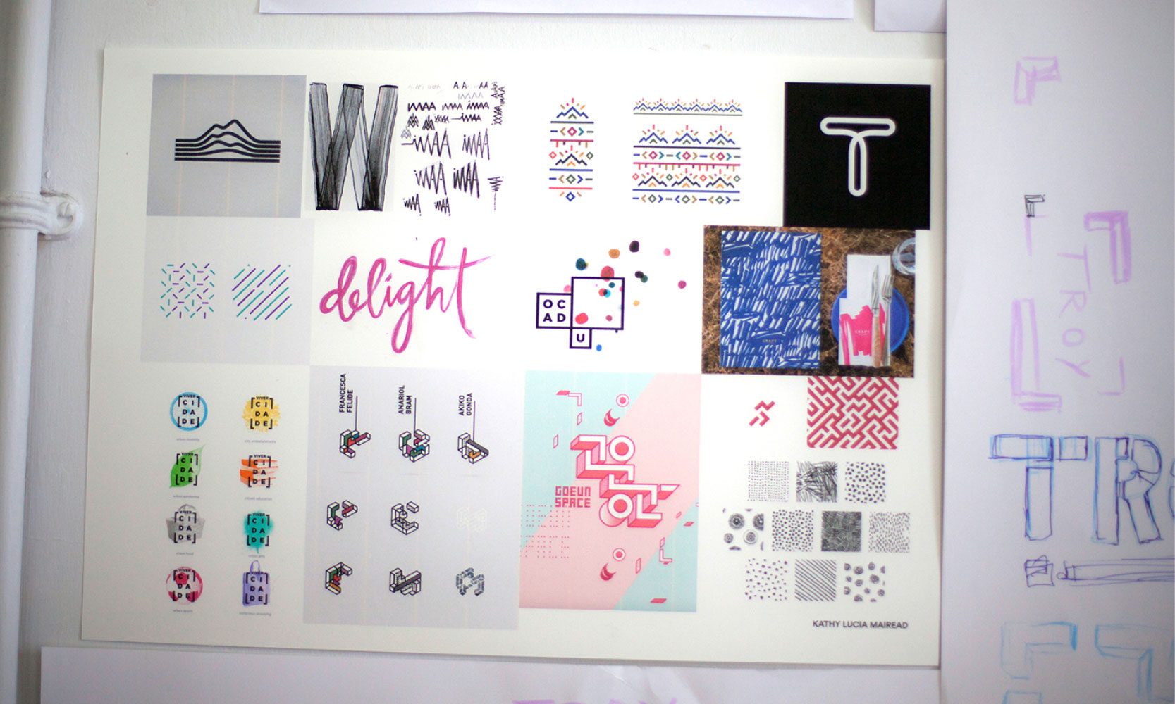 Troy Studios Graphic Design Research