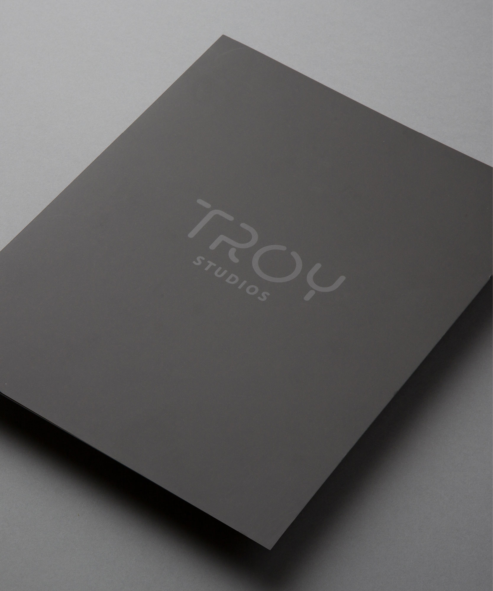 Troy Studios Limerick Brochure Graphic Design front cover