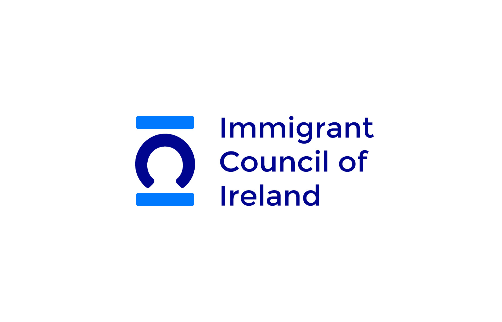 Immigrant Council of Ireland logo design and graphic design