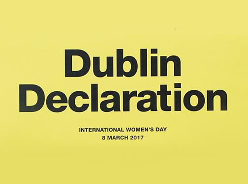 Dublin Declaration Graphic Design