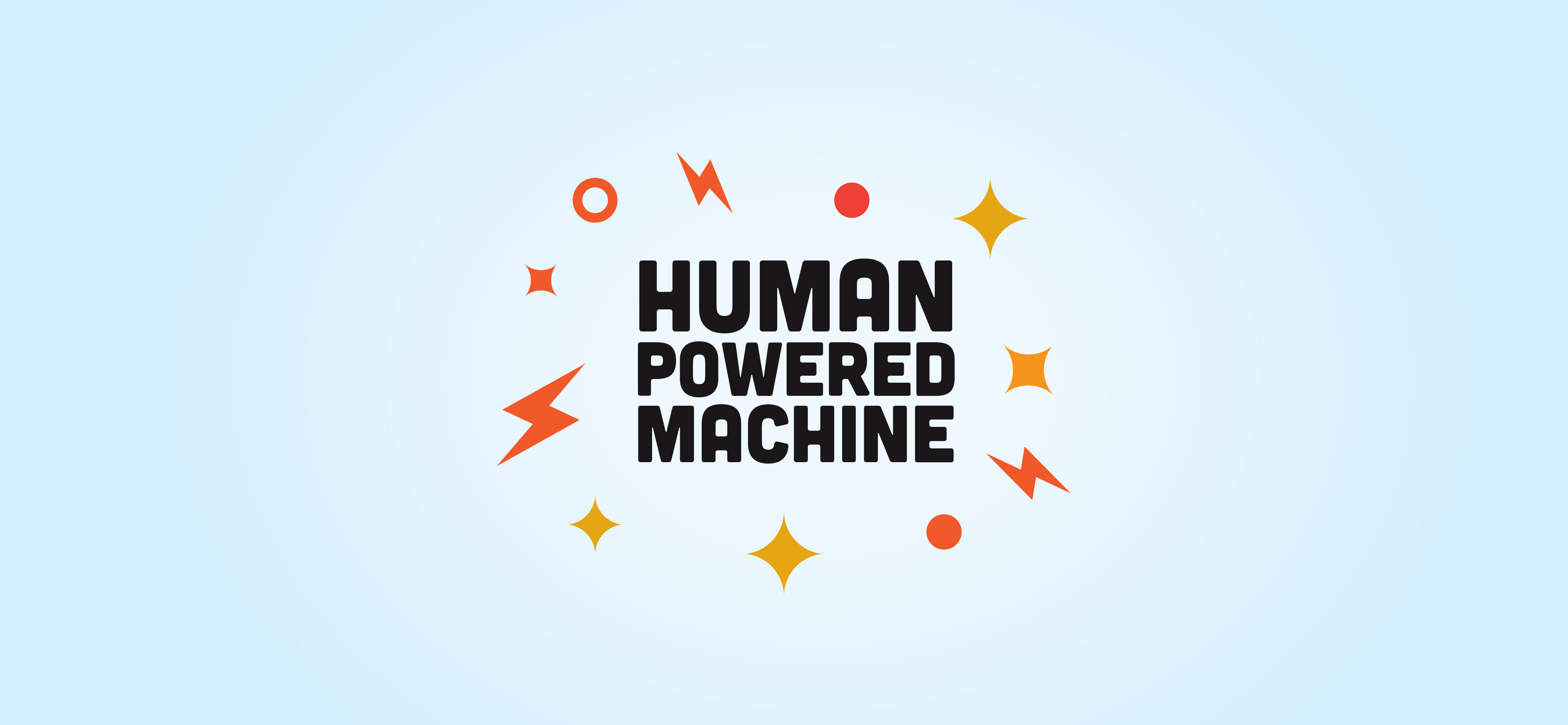 Animation of Human Powered Machine motion graphic design