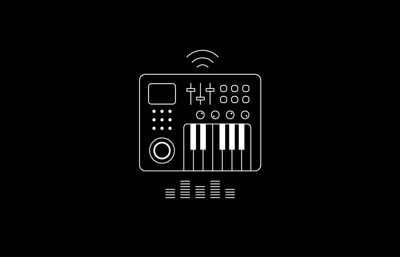 Iconography of electronics for LIT Electrical and Electronic Engineering campaign.