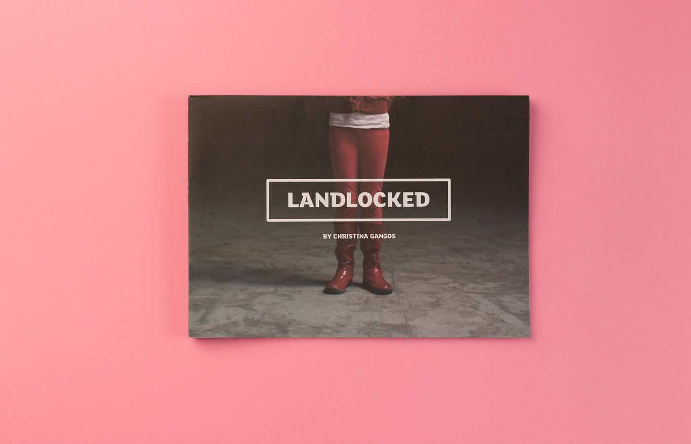 Graphic design for Landlocked by Piquant Limerick