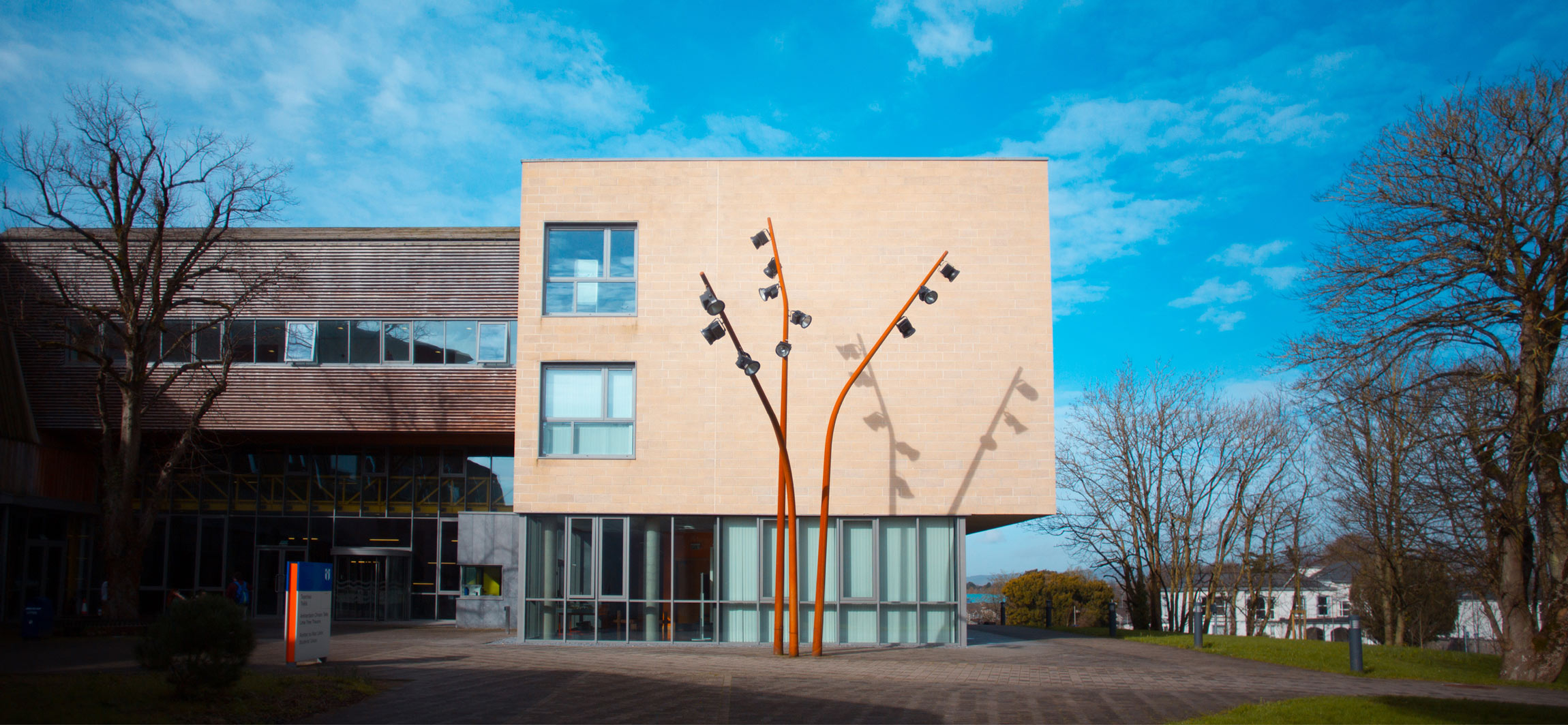 MIC video and photography production of new buildings on Limerick campus