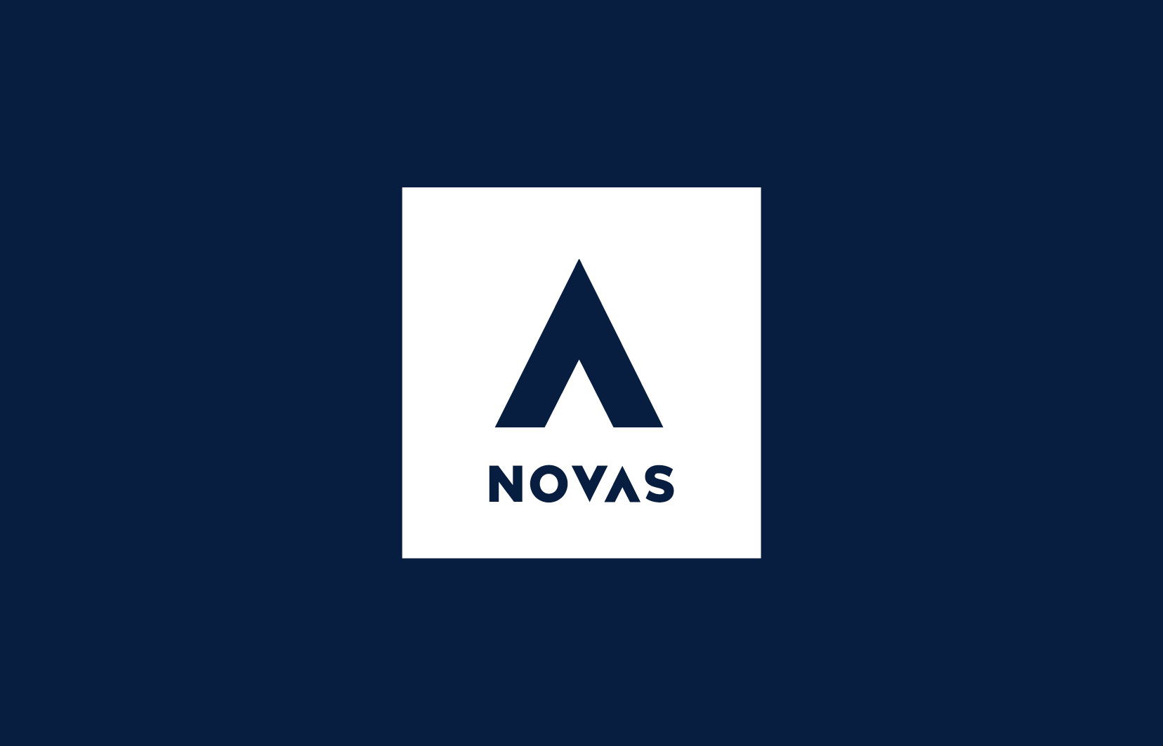 Novas Logo design, brand development and graphic design. The new Novas logo