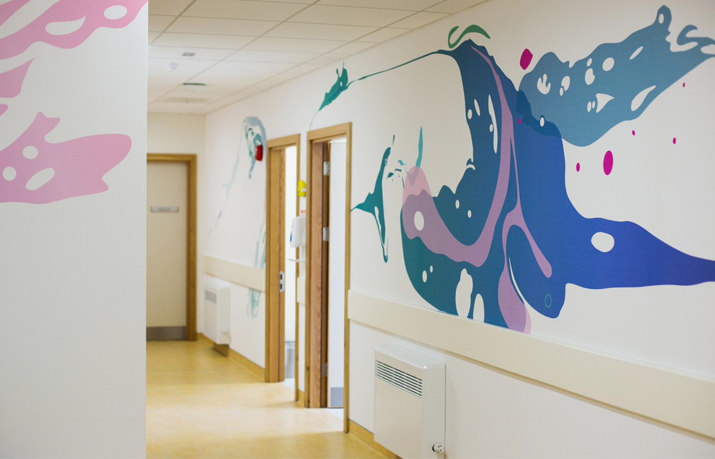 University Hospital Limerick spatial design in cystic fibrosis unit