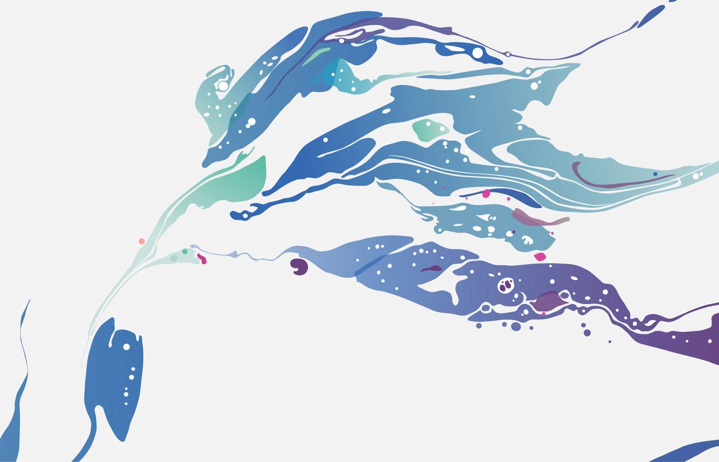 Spatial design in soft, ocean-inspired colours at University Hospital Limerick