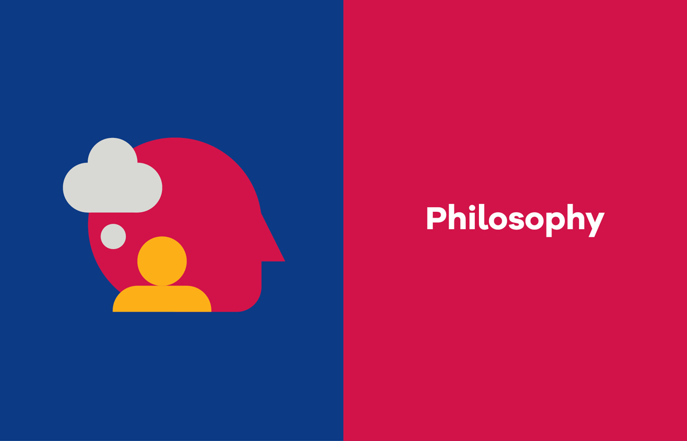 Philosophy iconography for UL Bachelor of Arts campaign