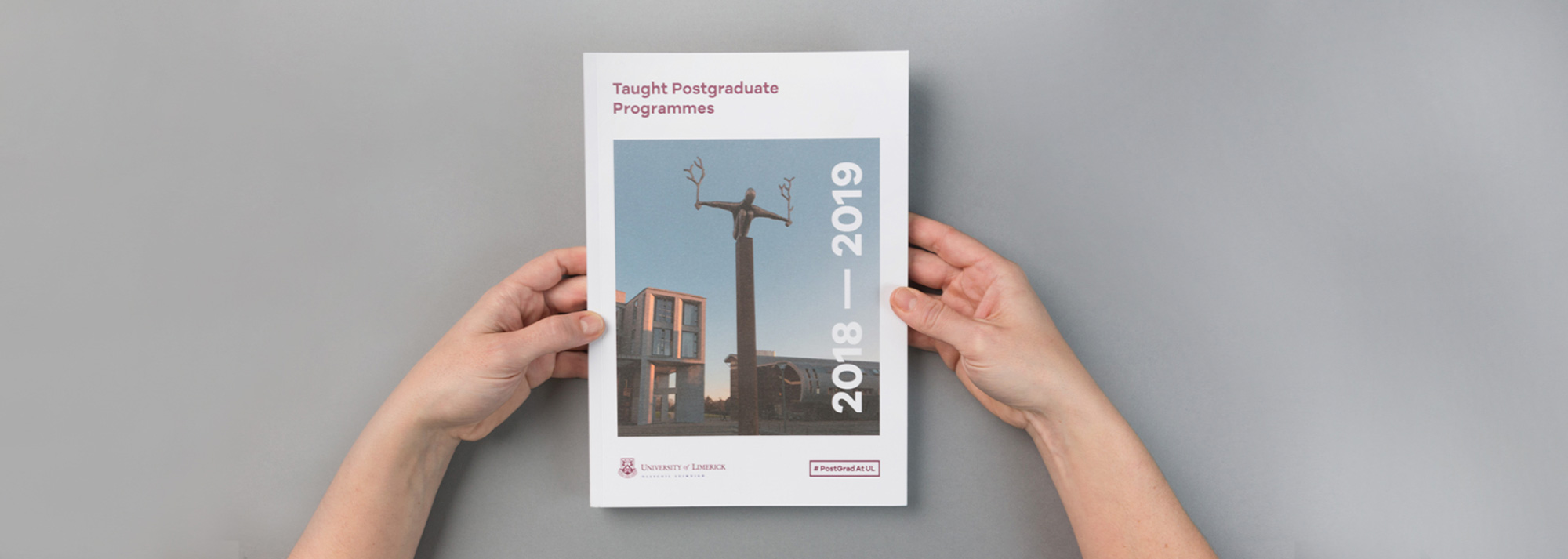 UL Postgrad Prospectus Publication Design