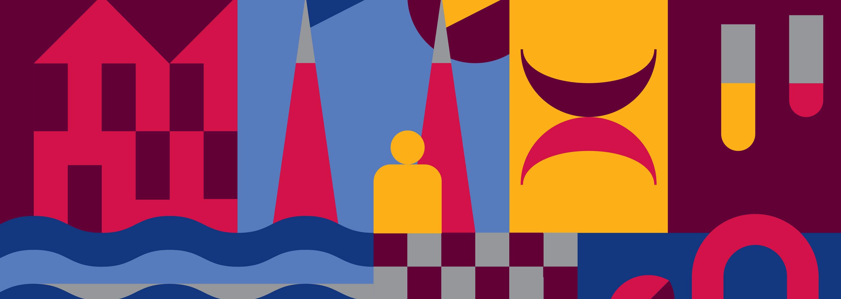 University of Limerick graphic design, colour defining and brand development