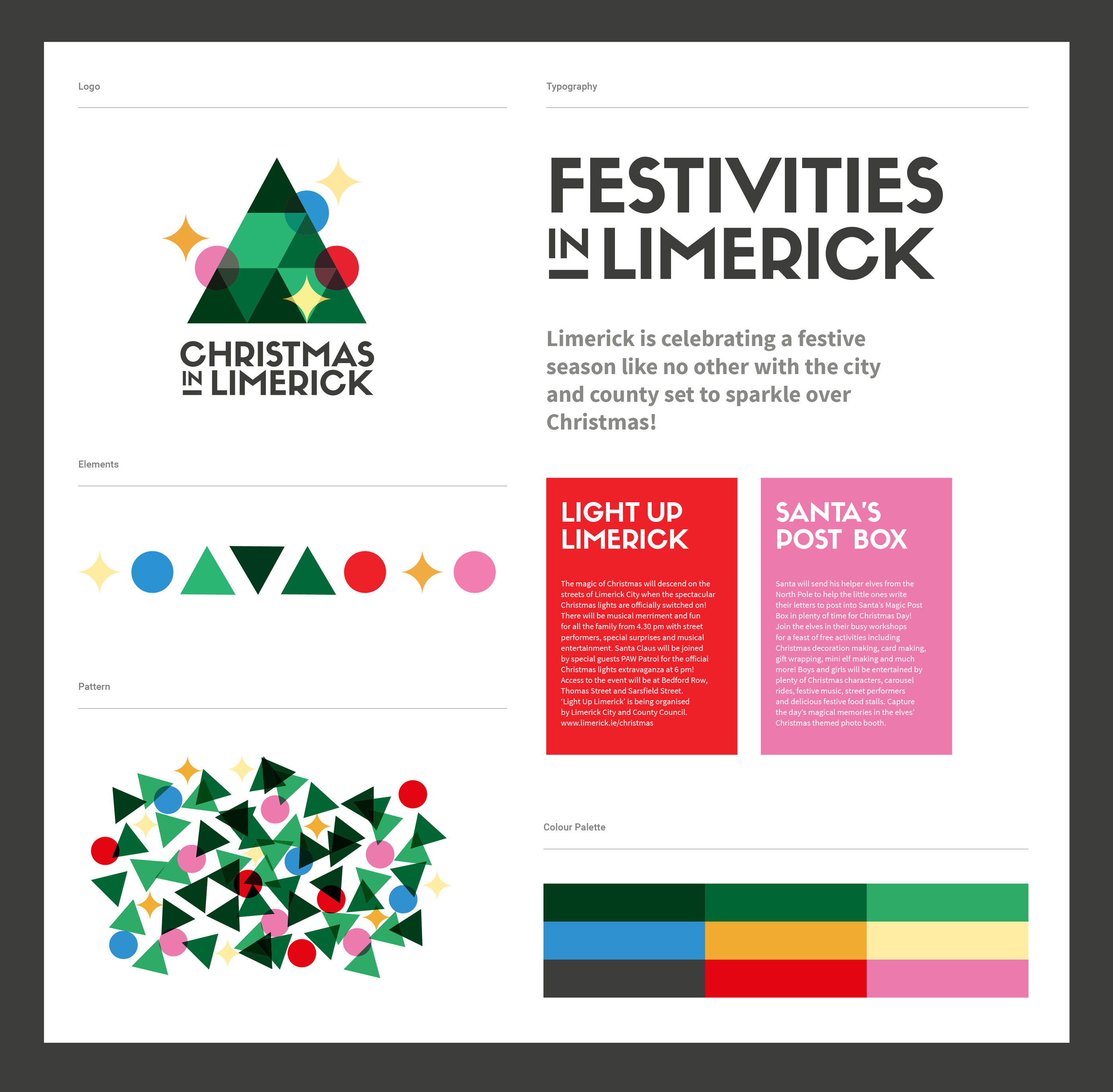 Christmas in Limerick Campaign Identity