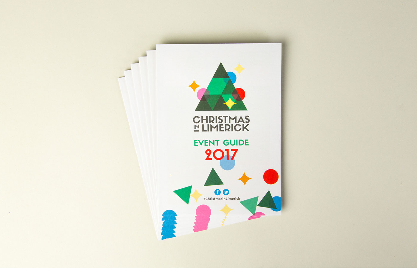 Christmas in Limerick Campaign Graphic Design