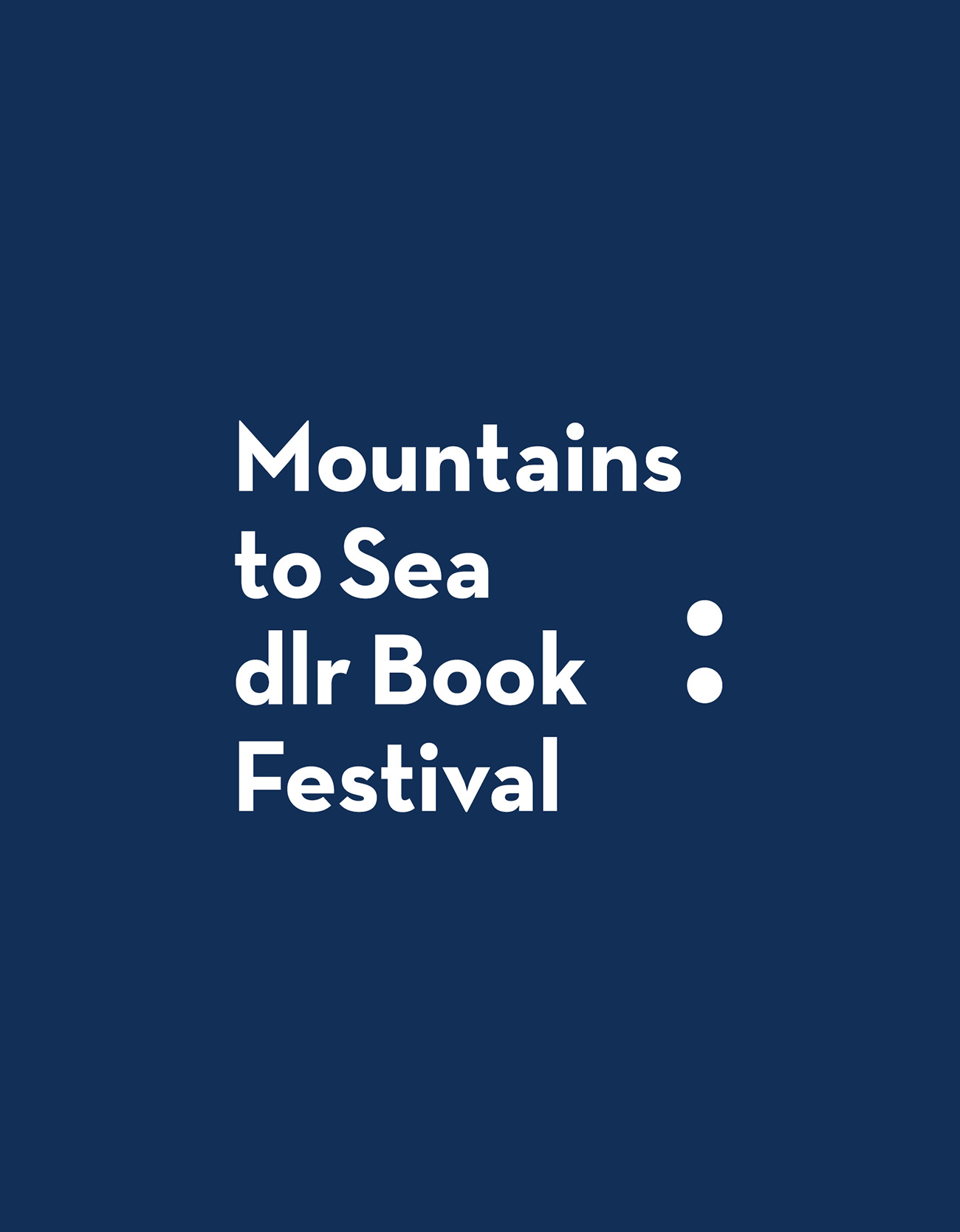 Mountains to Sea Book Festival Brand Development