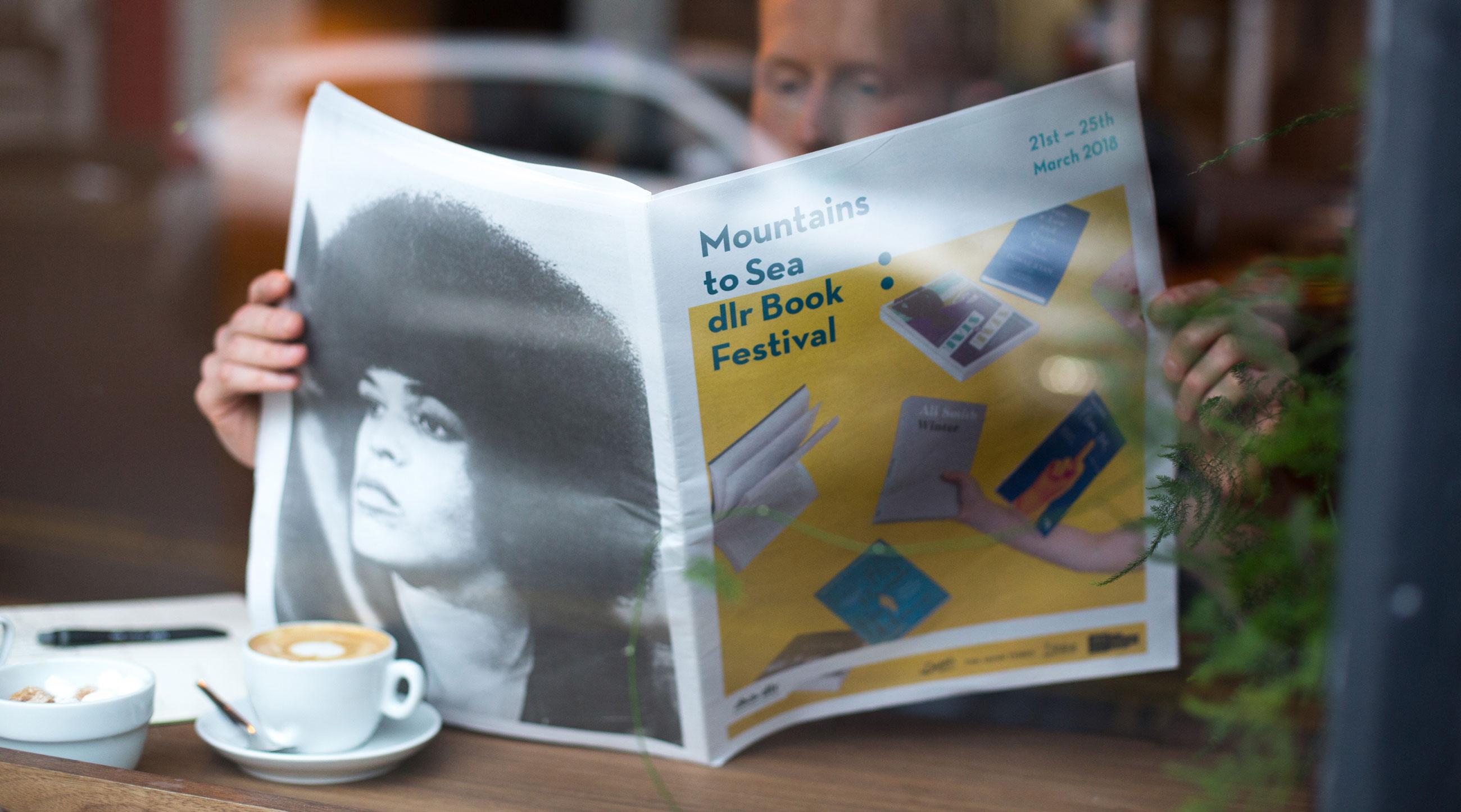 Mountains to Sea Book Festival Brochure Design