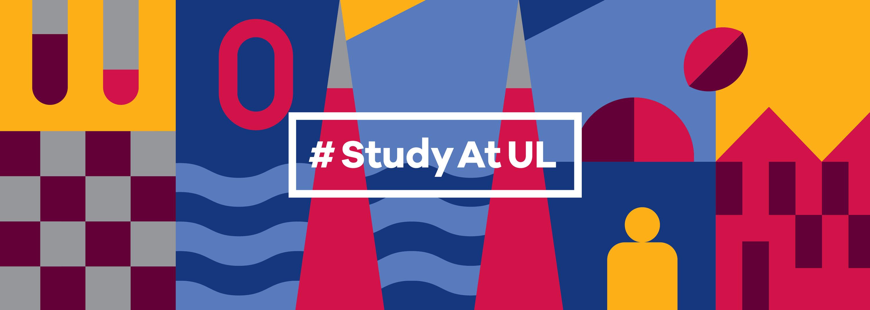 UL Undergrad Brand identity #studyatul and colour palatte