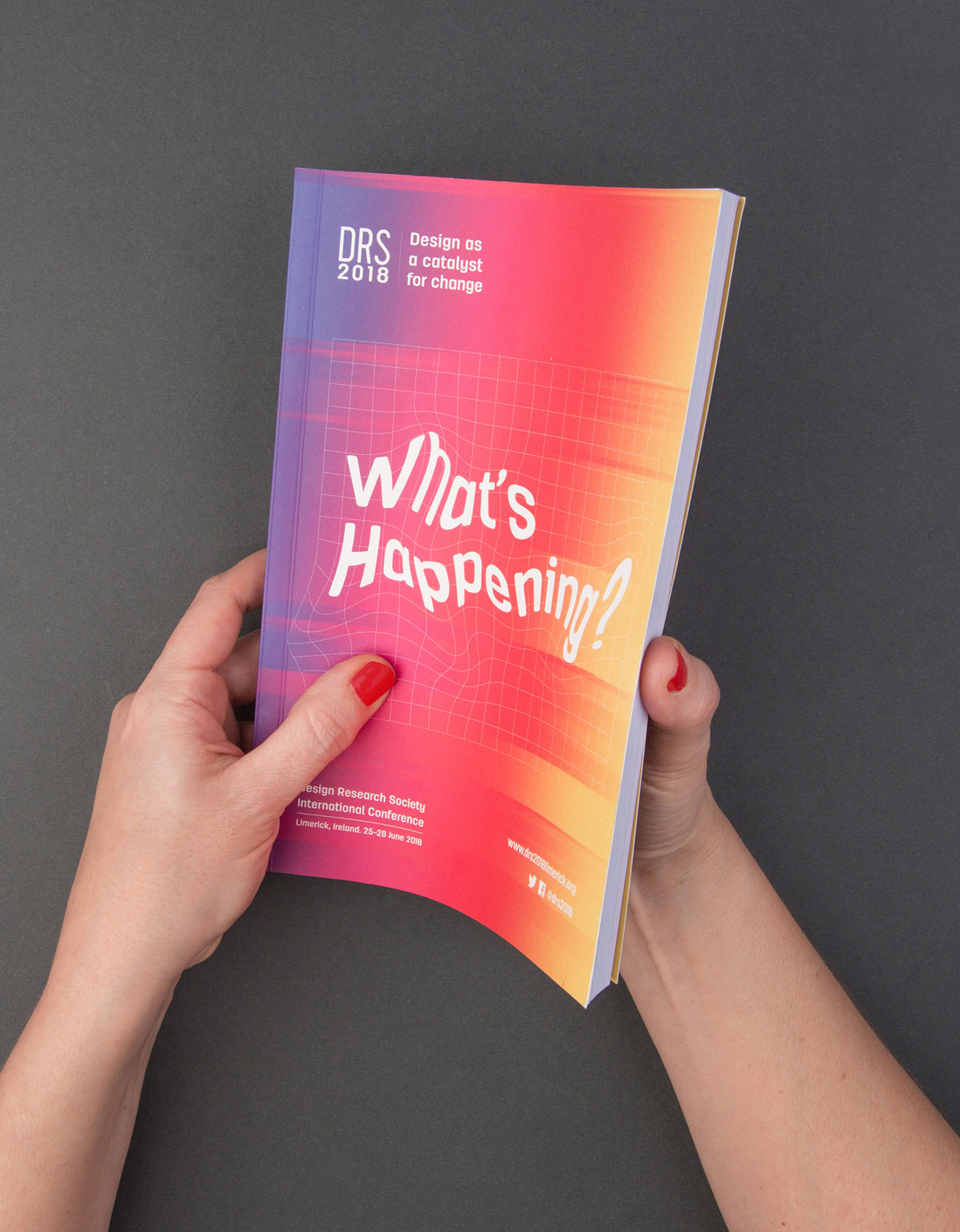 DRS2018 Brochure Design