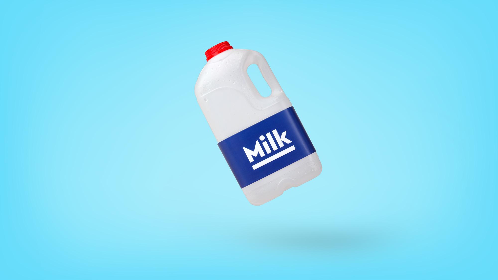 Milk-Carton graphic design