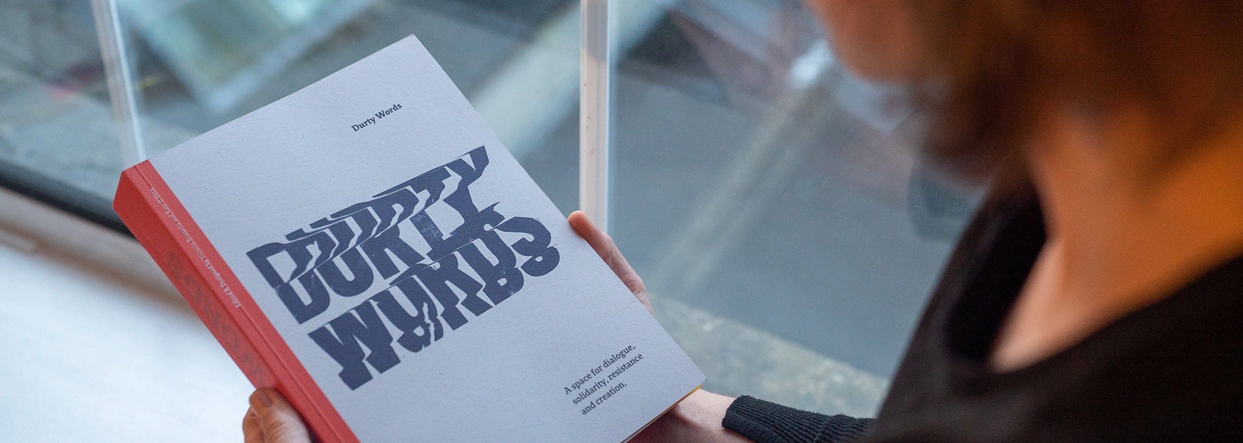 Durty Words Book Graphic Design