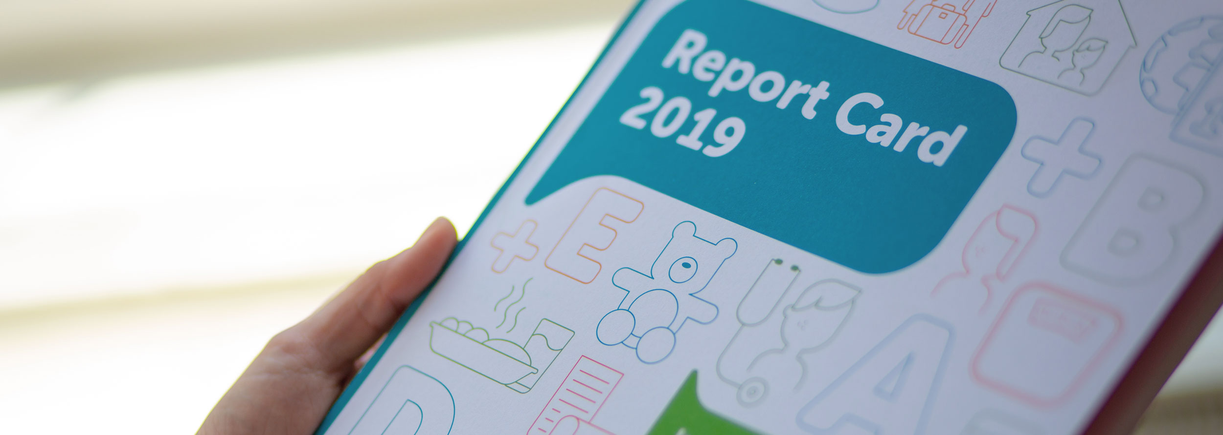 Children's Rights Alliance Report Card Design 2019