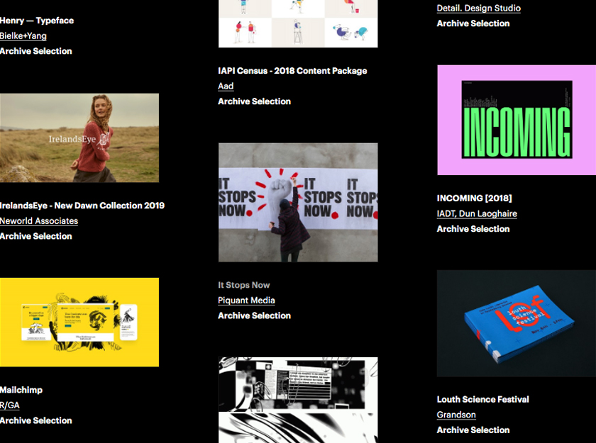 it stops now campaign 100Archive 2018 selection