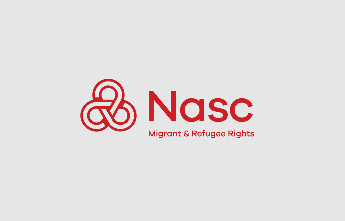 Nasc Ireland logo design