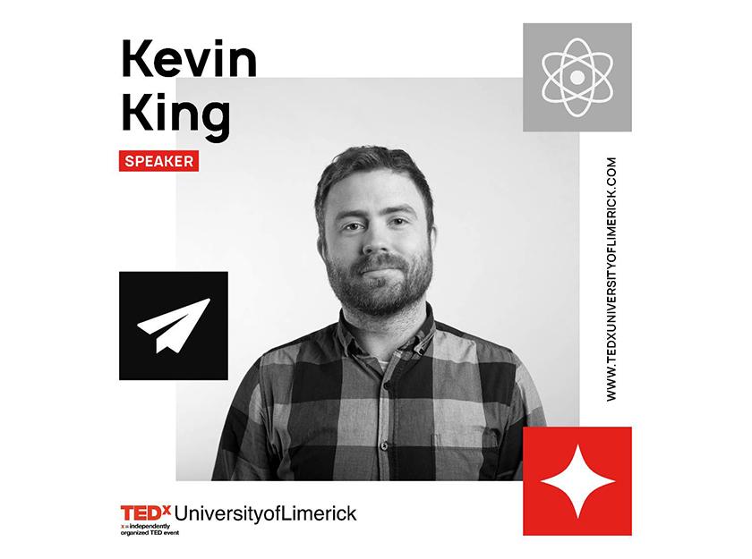 TEDxUniversityofLimerick Piquant Media Limerick City Kevin King graphic design