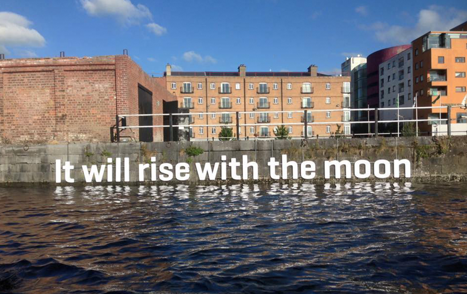 It will rise with the moon Piquant Media Limerick City photography