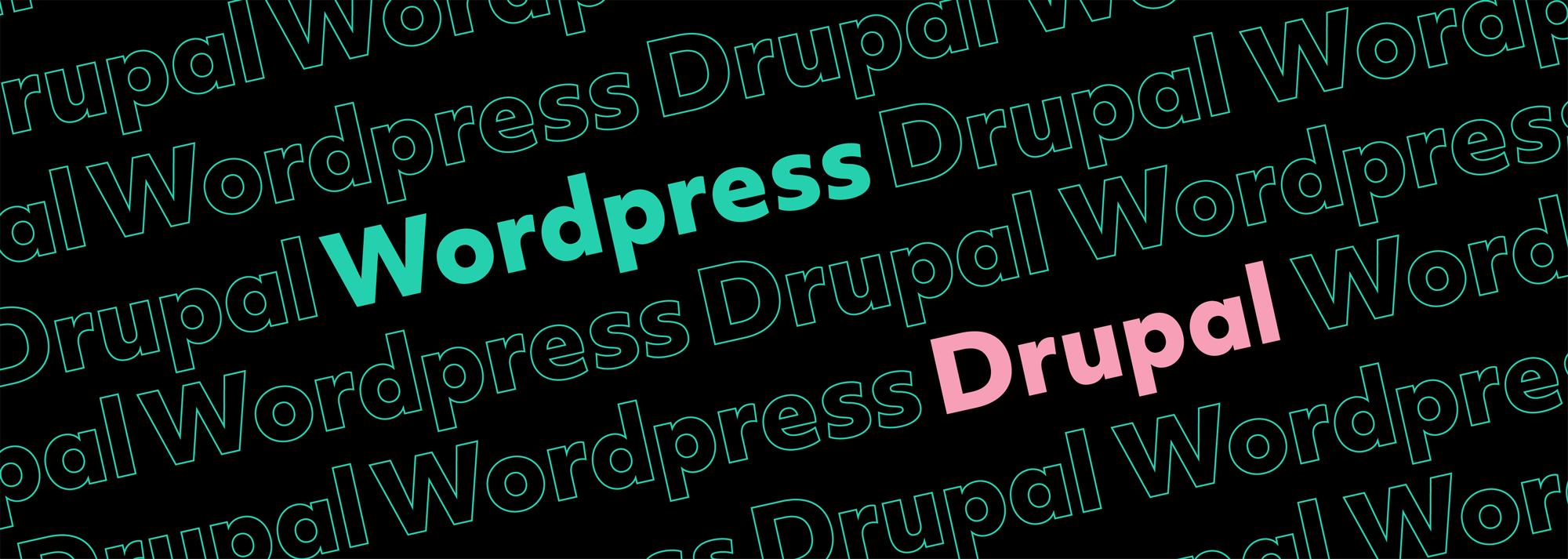 drupal vs wordpress brand development featured