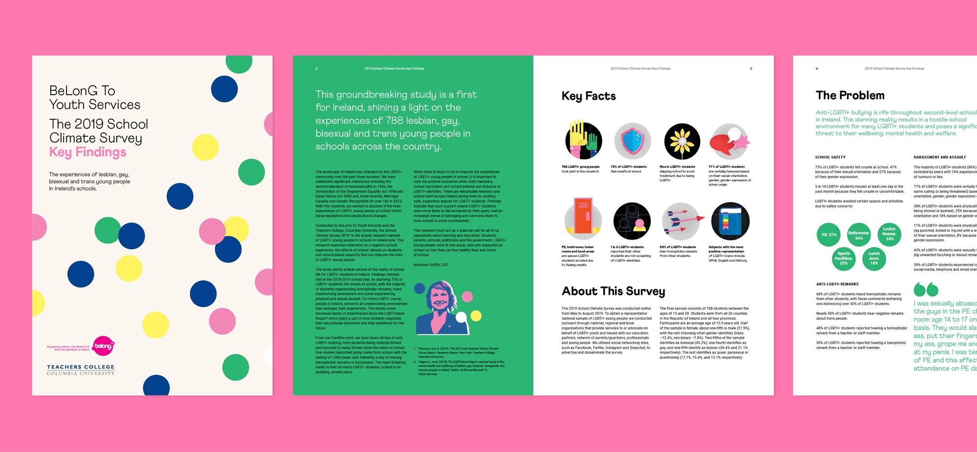 Belong To Brochure Design