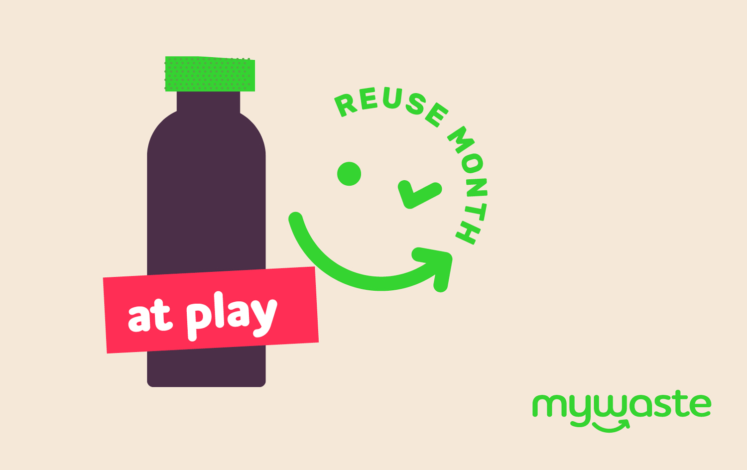 Reuse month campaign brand development