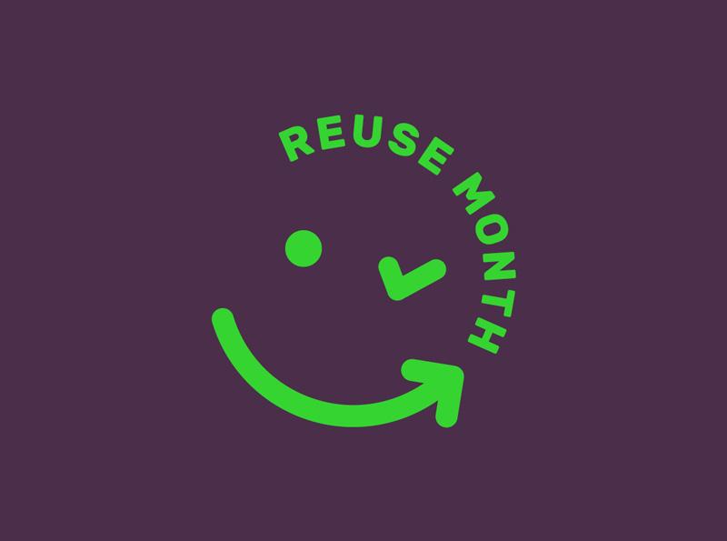 Reuse month campaign brand development