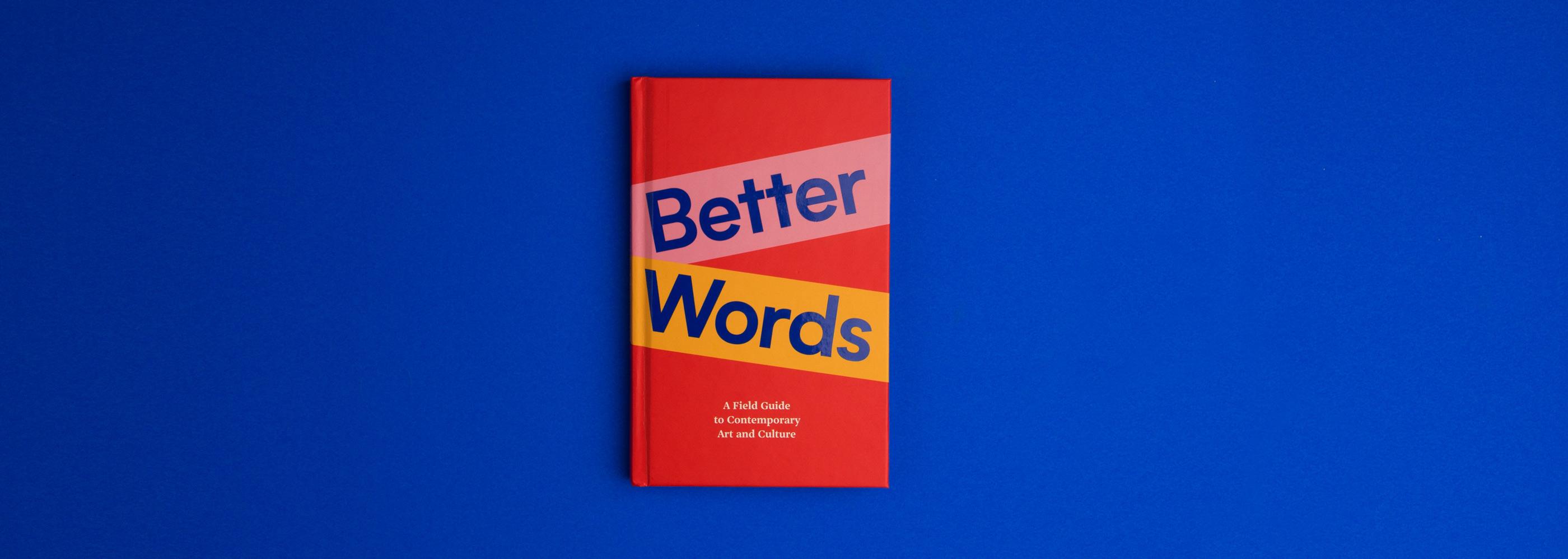 Better Words Eva International Book Design