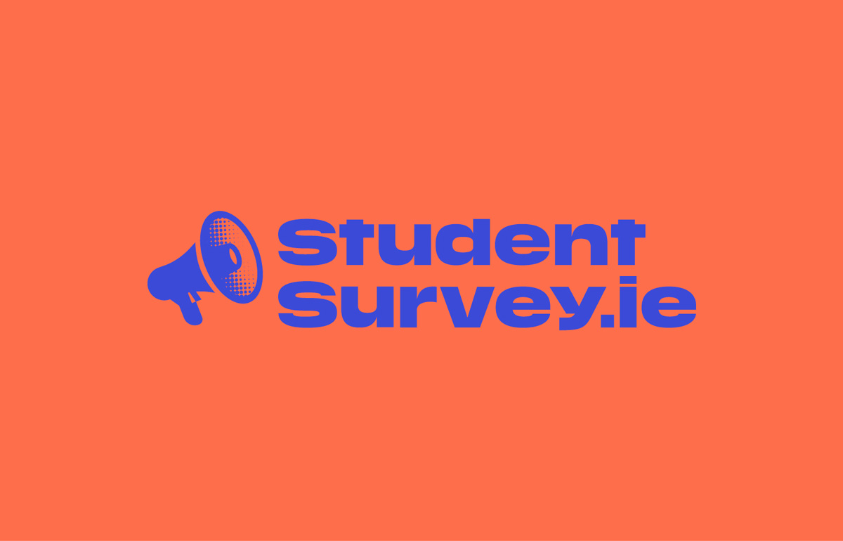student survey brand development logo