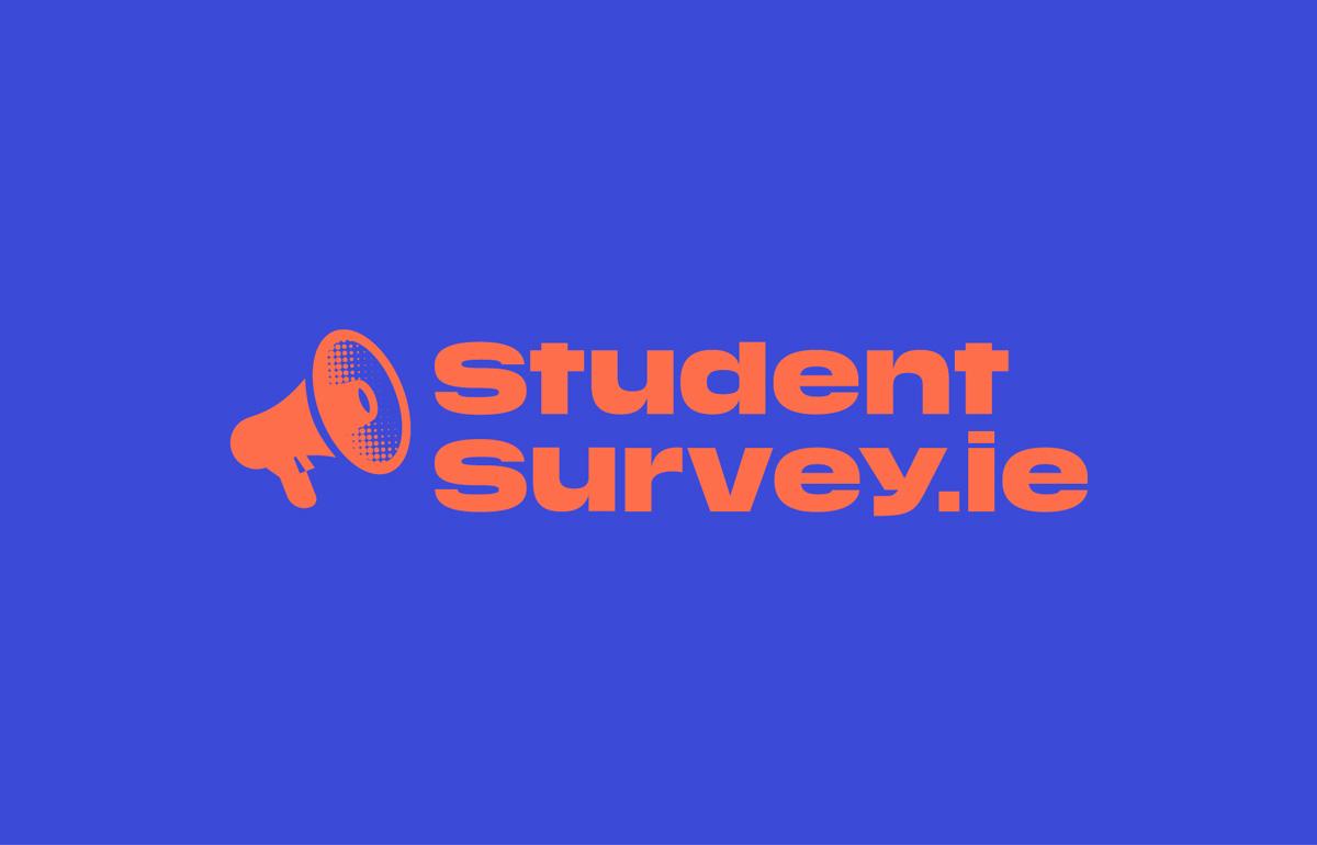student survey brand development logo