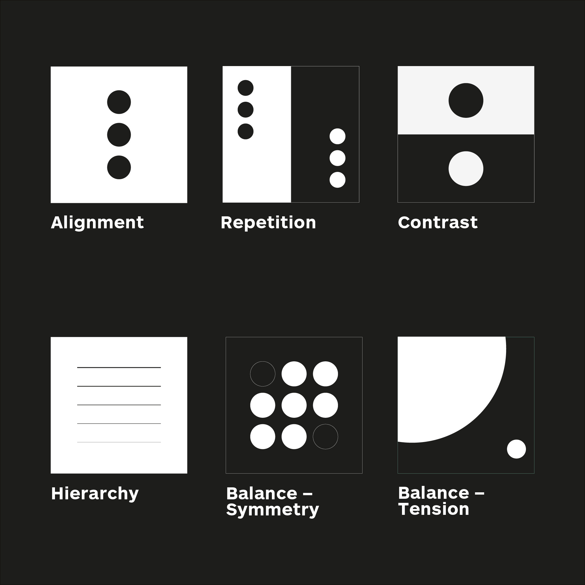 Basic Graphic Design Principles Illustration