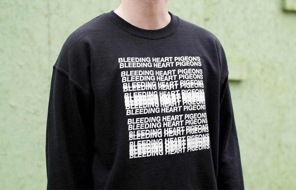 Bleeding Heart Pigeons Album Artwork Design