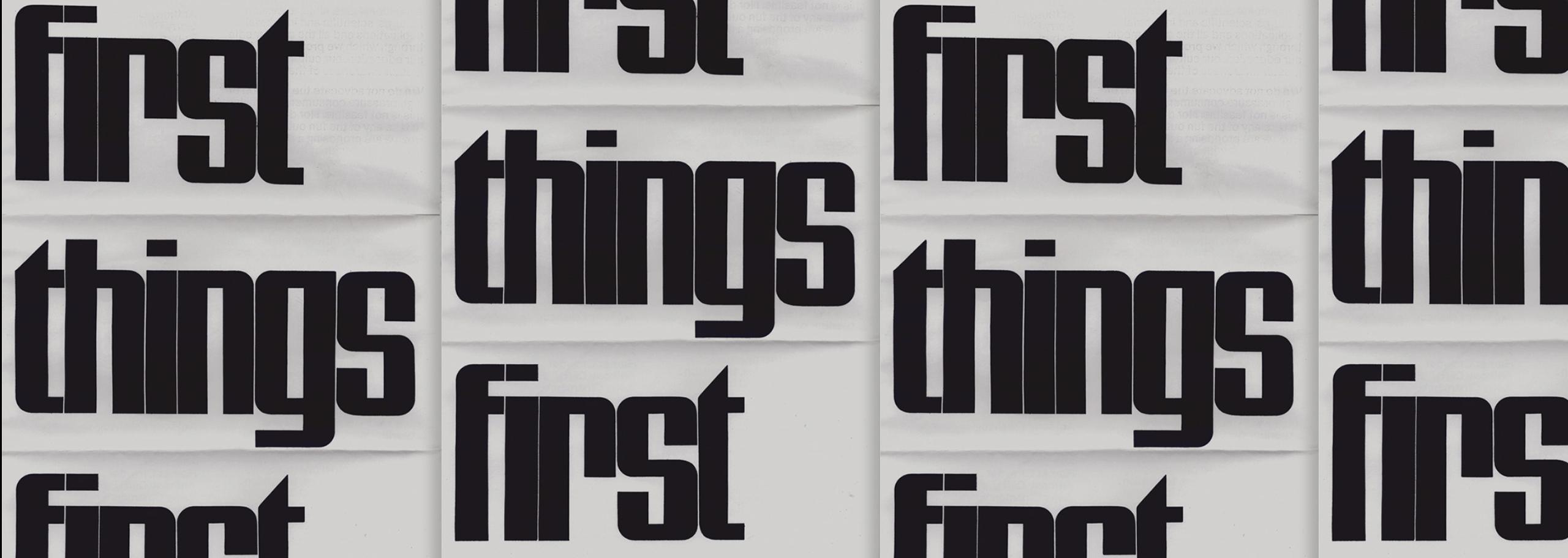 Ken Garland - first things first manifesto